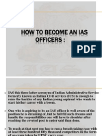 How to Become an Ias Officer Presentation1