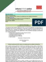 Informativo Online n° 13