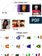 Nacionalidades y Paises