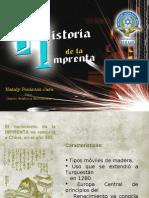 Imprenta Lista