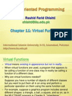 Ch11 Virtual Functions