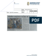 Informe de prensa del 8 al 15 de junio de 2012
