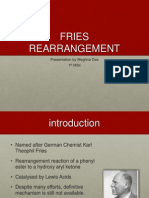 Fries Rearrangement