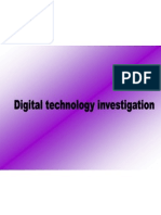 Digital Technology Investigation
