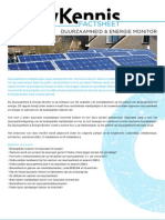 De Factsheet Duurzaamheid & Energie Monitor Kopie