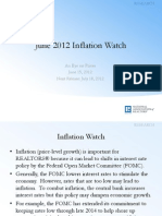 June 2012 Inflation Watch