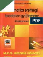 Matematika érettségi feladatsor gyűjtemény