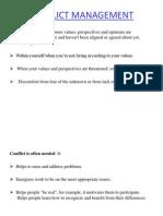Conflict Management Chapter 4