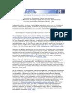 2. APA Guidelines Maus Tratos