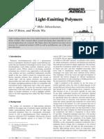 Progress With Light-Emitting Polymers