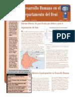 Estado de la Situación de los Derechos Sociales en Beni