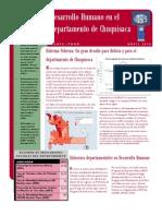Estado de la Situación de los Derechos Sociales en Chuquisaca