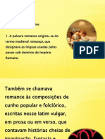 O Romance Romantico