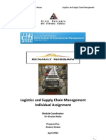 Logisctics and Supply Chain Management - Individual Assignment (Aissam Ouaza)