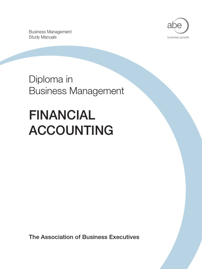 07 Financial Accounting Txt | International Financial Reporting Standards |  Financial Statement