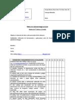 Rúbrica de Evaluación Blogger personal 2012- Laboratorio 1