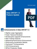 Data ONTAP 7[1].3 Customer Presentation