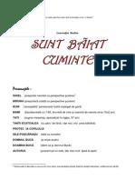 SUNT  BĂIAT  CUMINTE  (comedie)