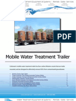 Mobile Water Treatment Trailer