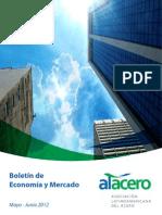 Boletín de Economía y Mercado, Mayo-Junio 2012