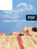 Lahu Women Report Grab for White Gold Impacts of Platinum Mining in Eastern Shan State Burmese
