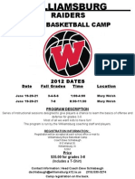 2012 Youth Camp