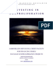Investing in Nonproliferation - Managing Systemic Risks