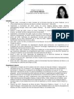 Sintesis Curricular Actualizada