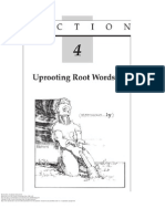 Vocabulary Improvement SECTION 4 Uprooting Root Words