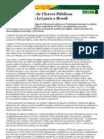 Infra-estrutura de Chaves Públicas Brasileira  uma Lei para o Brasil — Portal Software Livre