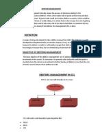 Debtors Management