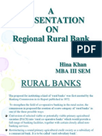 Ppt. Regional Rural Banks