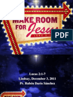 Make Room for Jesus ]