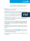 INFORME LA INFANCIA EN ESPAÑA 2012-2013. El impacto de la crisis en los niños. UNICEF