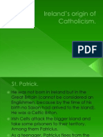 Ireland's origin of Catholicism