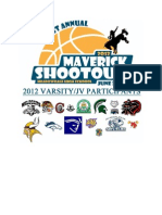 2012 Meadowdale Maverick Shootout Coaches Packet