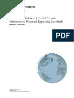 Comparison Between Us Gaap and International Financial1143
