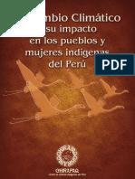 El cambio climático y su impacto en los pueblos y mujeres indígenas del Perú