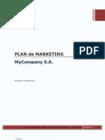 Formato Plan de Marketing