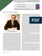 Professor A.R. Burkin  Obituary(Final)