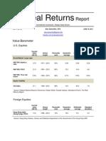 The Real Returns Report, June 18 2012