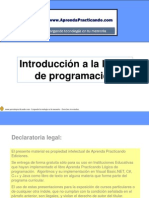 Introduccion a La Logica de La Programacion