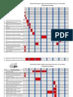 Cronograma de Trabajo f.c.i. Gradas