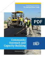 Community Outreach and Capacity Building for Infrastructure