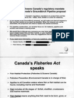Enbridge Fisheries Speaks