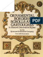 Ornnamental Borders, Scrolls Ang Car Touches in Historic Decorative Styles