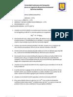 EJERCICIOS SEGUNDO PARCIAL QUÍMICA ANALÍTICA-1