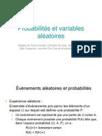 1_Probabilites Et Variables Aleatoires