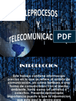 Teleprocesos y Telecomunicaciones