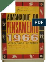 O Fascinante Misterio da Atlântida, por Jeronymo Monteiro - Almanaque do Pensamento 1966